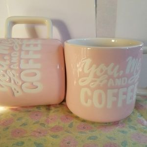 Other - STONEWARE COFFEE MUG CUTE